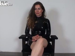 Latex Loving Austrian Amateur Loves Th...