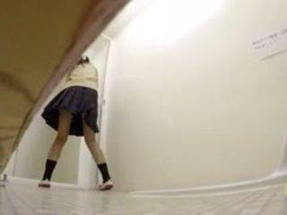 おしっこ toilets -school ギャル was rushing
