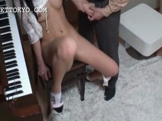 Asian stunning girl gets cunt rubbed and fingered
