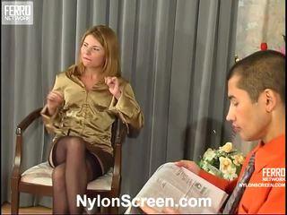 nóng trữ tình dục, xếp hạng nylon slips and sex tốt nhất, chất lượng sex and nylon stockings vui vẻ