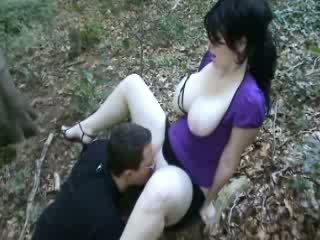 Bom a foder em floresta vídeo