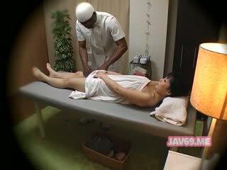 giapponese, massaggio, cams nascosti