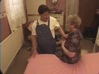 Granny Fucks The Help