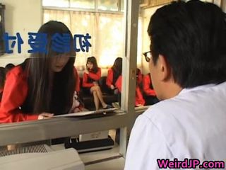 Aziatisch meisjes getting een amoral seks