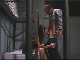 Porner Premium: Lustful cop fucking brunette client, Alaura Eden