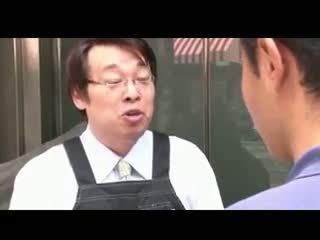 Bosomy jap jovem grávida gets fodido e facialized