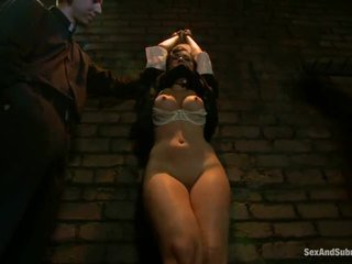 Corporal punishment per sinful suora angell summers
