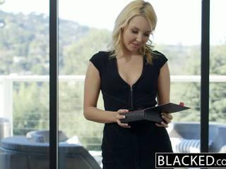 Blacked menarik rambut pirang hotwife aaliyah cinta dan dia hitam lover