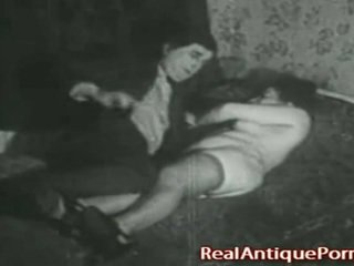 1920 klassinen porno: the robber!