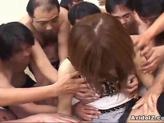 Japán picsa touched által sok men uncensored