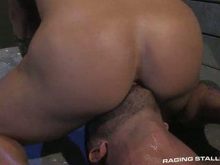 Adam killian & tyler wolf: muscle men baszás