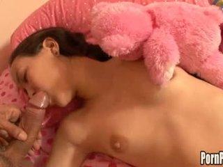 Asin pleasantheart amai liu acquires її обличчя hole attacked по a пеніс в той час як сплячий