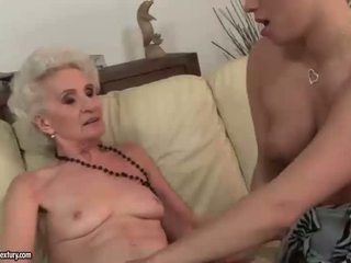 Old and Young Lesbian Compilation