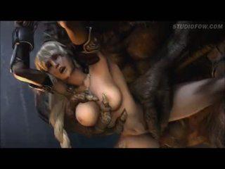 Sophitia versus the minotaur