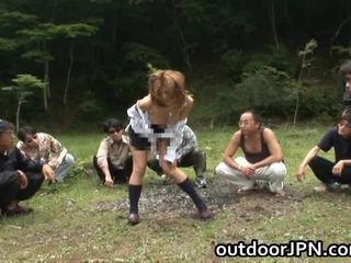 Akane hotaru pikantní asijské modelu gets