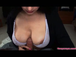 Foxy Anya Gets Her Oiled Tits Fucked