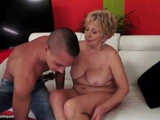 Pechugona regordeta grandmas sexo recopilación