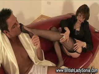 you british quality, hot grandma, watch aged check