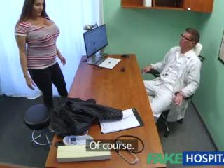 Fakehospital jana wants doctorã¢â€â™s gutarmak all over her big huge süýji emjekler video