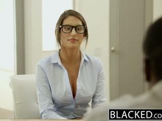 Blacked august ames gets an tarprasinis baigimas viduje