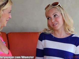 Lesbianolderyounger aaliyah cinta eating milf di luar