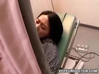 Hidden voyeur cam at gynecologist