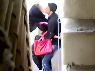 Arab सेक्स कॉट पर camera
