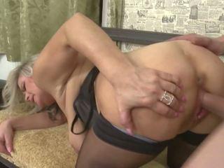 Mama cu mare saggy tate gets tabu sex, porno 85