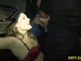 Hot wife Nikki gangbanged by many strangers <span class=duration>- 6 min</span>