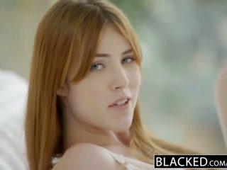 Blacked gwen stark и amarna miller първи между различни раси тройка