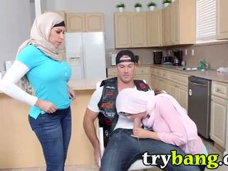 Arab mia khalifa & juliana vega мачуха 3way