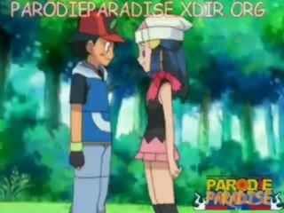 Pokemon हेंटाई ash x dawn