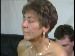 Tante: gratis abuelita & viejo & joven porno vídeo