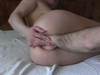 grać, analny, dildo