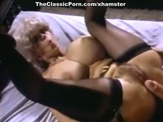 John holmes, candy samples, uschi digard in vintage porno