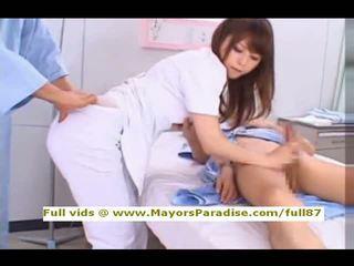 Akiho yoshizawa aus idol69 verdorben asiatisch krankenschwester likes bis tun blowjob