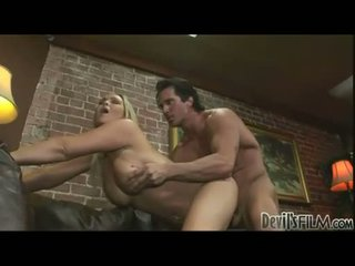 Burning hot Abbey Brooks loves to get those meaty jugs creamed after fucking