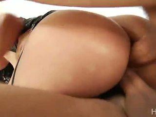 doppia penetrazione, sborrata, big ass