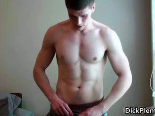 Страхотен гей dude gets гол за на камера
