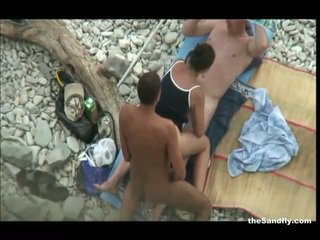 soditës, plazh, hot nudism