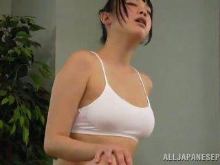 Hunaja reiko kobayaka was kohteeseen sexcited varten petting