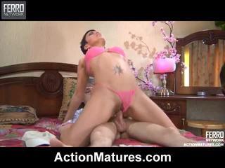 Hot Action Matures Mov Starring Sara, Amelia, Flo