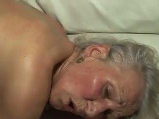 Grannys are מזיין: חופשי דילדו פורנו וידאו 89