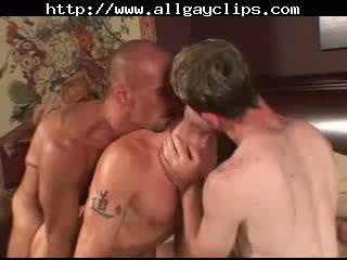 Sexy Gays In Tats Threeway Banging.gay porn gays gay cumshots swallow stud hunk