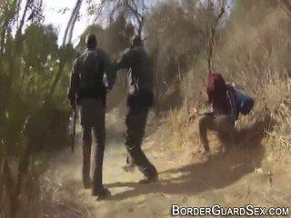 Ado fucks border guard