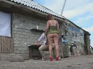 Mature Woman Fucked On Village Farm Video