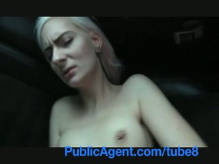 PublicAgent Blonde stunner shows sexy ...