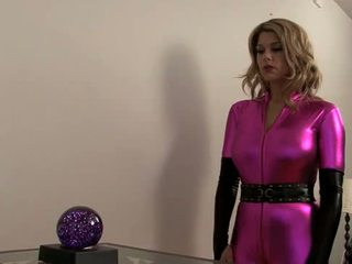 Carissa montgomery-super heroine falls เข้าไป hypno-chloro trap