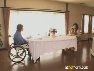 japanilainen, vaimo, seksikäs
