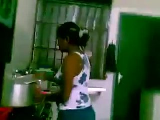 Indian Sex in kitchen